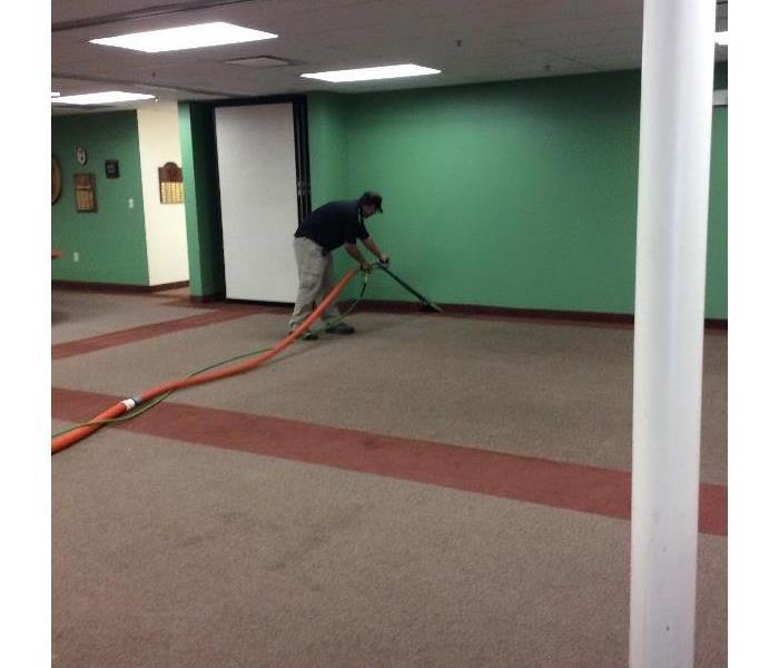 Commercial carpet cleaning in El Paso county